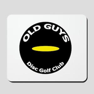 Old Guys Disc Golf Club Mousepad