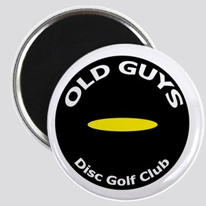 Old Guys Disc Golf Club Magnets