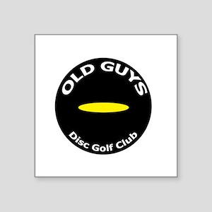 Old Guys Disc Golf Club Sticker