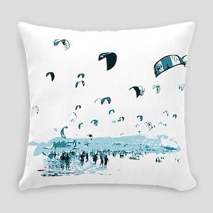 Kite Surfing Everyday Pillow