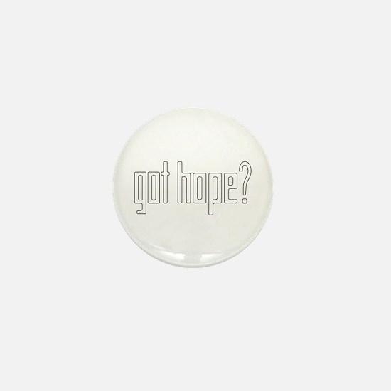 got hope? white Mini Button