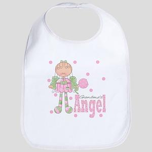 Grandma's Angel Grandmother Baby Toddler Bib