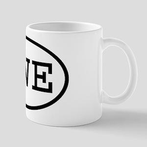 SWE Oval Mug