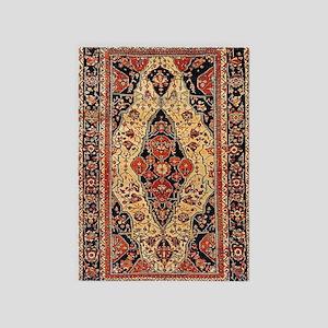 Kashan Persian Carpet 5'x7'area Rug