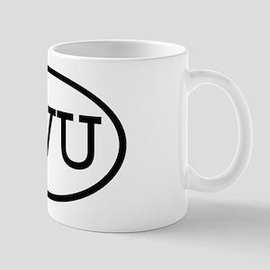 SVU Oval Mug