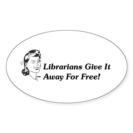 Randy Librarian Sticker