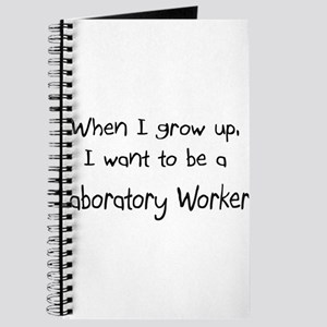 When I grow up I want to be a Laboratory Worker Jo