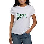 Lightning Bolt Font Super Dad Women's T-Shirt