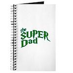 Lightning Bolt Font Super Dad Journal