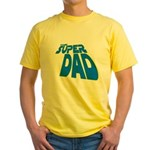 The Super Dad Yellow T-Shirt
