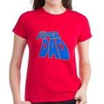 The Super Dad Women's Dark T-Shirt