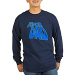 The Super Dad Long Sleeve Dark T-Shirt