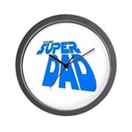 The Super Dad Wall Clock