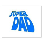 The Super Dad Small Poster