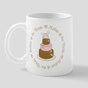 Mother of the Bride Cake Mug