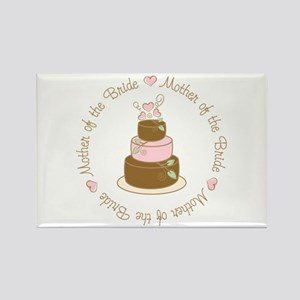Mother of the Bride Cake Rectangle Magnet