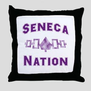 Hiawatha Seneca Nation Throw Pillow