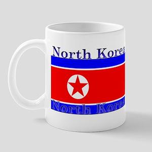 North Korea Korean Flag Mug