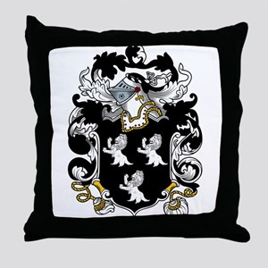 Randall Family Crest Throw Pillow