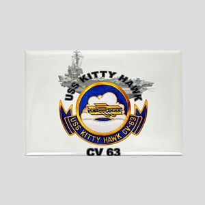 USS Kitty Hawk CV-63 Rectangle Magnet