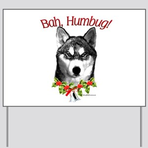 Sibe Bah Humbug Yard Sign