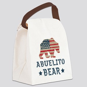 USA Abuelito Canvas Lunch Bag