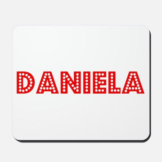 Retro Daniela (Red) Mousepad