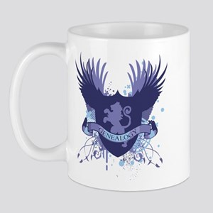 Blue Genealogy Crest Mug