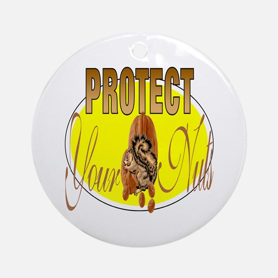 Protect your nuts Keepsake (Round)