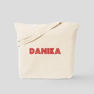 Retro Danika (Red) Tote Bag