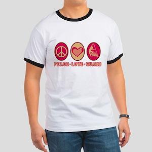 PEACE - LOVE - GUARD Ringer T