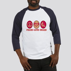 PEACE - LOVE - GUARD Baseball Jersey