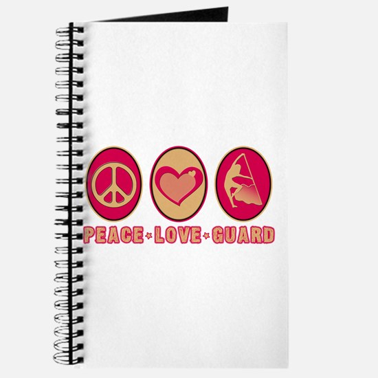 PEACE - LOVE - GUARD Journal
