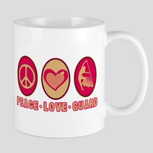 PEACE - LOVE - GUARD Mug