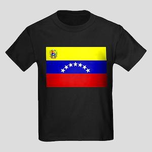 Venezuela 7 stars Kids Dark T-Shirt