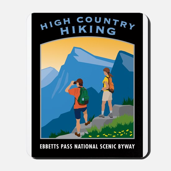 High Country Hiking - Mousepad
