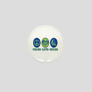 PEACE - LOVE - GUARD Mini Button