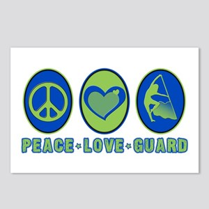 PEACE - LOVE - GUARD Postcards (Package of 8)