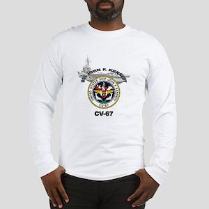 USS John F. Kennedy CV-67 Long Sleeve T-Shirt