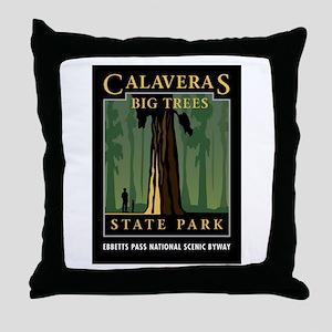 Calaveras Big Trees - Throw Pillow