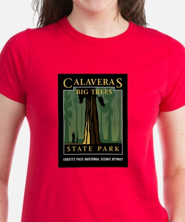 Calaveras Big Trees - Women's Dark T-Shirt