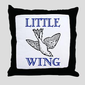 LITTLE WING Throw Pillow