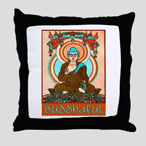 BUDDHAFUL Throw Pillow