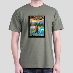 Stanislaus River - Dark T-Shirt