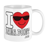 I Love Dana Point Mugs