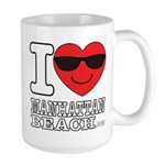 I Love Manhattan Beach Mugs
