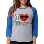 I Love Manhattan Beach Long Sleeve T-Shirt