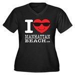 I Love Manhattan Beach Plus Size T-Shirt