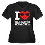 I Love Manhattan Beach Plus Size T-Shirt