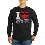 I Love Manhattan Beach Long Sleeve T-Shirt